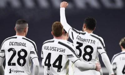 Frabotta Demiral Kulusevski Juventus