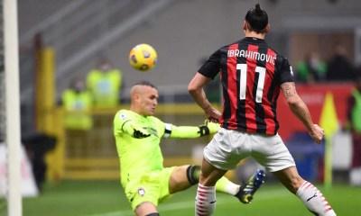 Gol Ibrahimovic Milan-Crotone