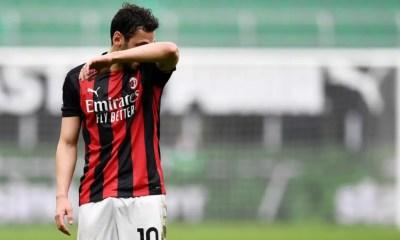 delusione Hakan Calhanoglu Milan