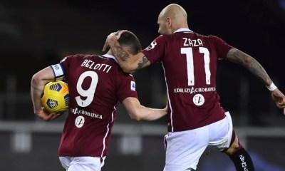 esultanza gol Andrea Belotti Simone Zaza Torino