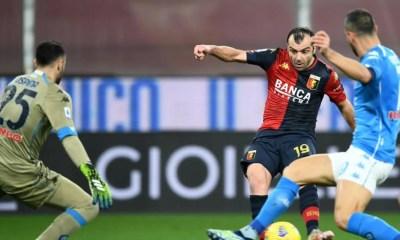 gol Pandev Genoa-Napoli