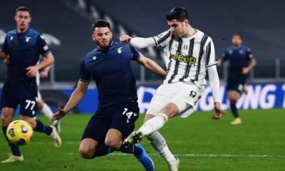 Gol Alvaro Morata Juventus-Lazio