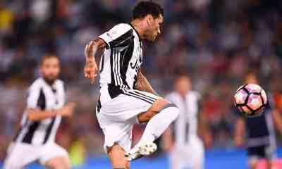 Esultanza Dani Alves Juventus