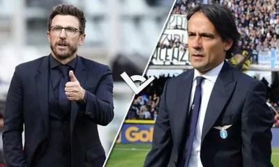 Roma Lazio Di Francesco vs Inzaghi