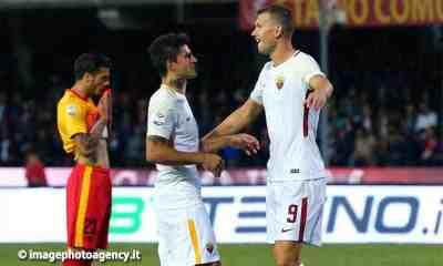 Esultanza-gol-Perotti-Dzeko