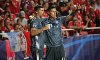 Lewandowski-Rodriguez-Bayern-Monaco