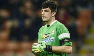 Simone Scuffet portiere Udinese