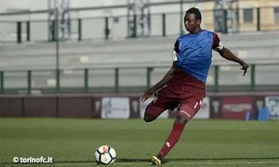 Umar-Sadiq-allenamento-Torino