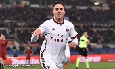 esultanza-gol-Davide-Calabria-Roma-Milan