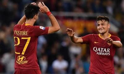 esultanza-gol-Javier-Pastore-under-Roma