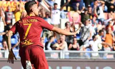 esultanza-gol-Lorenzo-Pellegrini-Roma