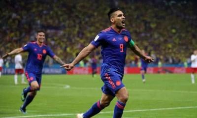 falcao james rodriguez colombia polonia mondiali russia 2018