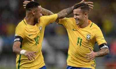 neymar brasile coutinho