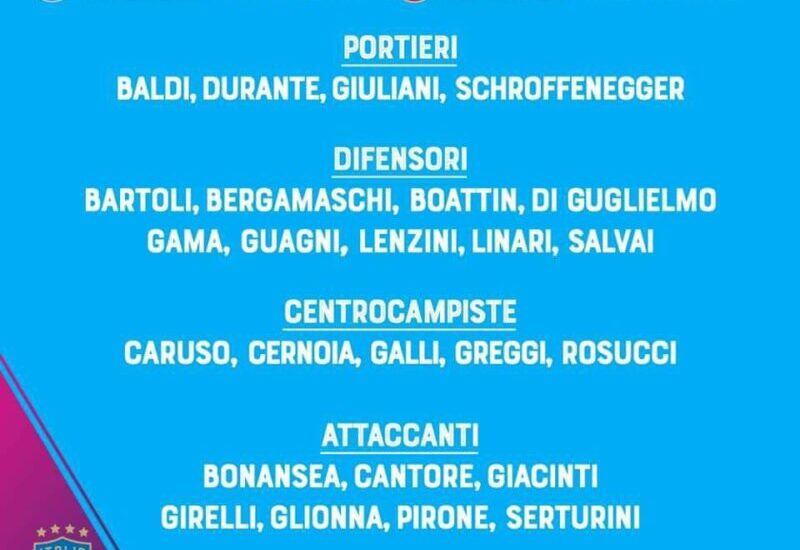 Convocate Italia