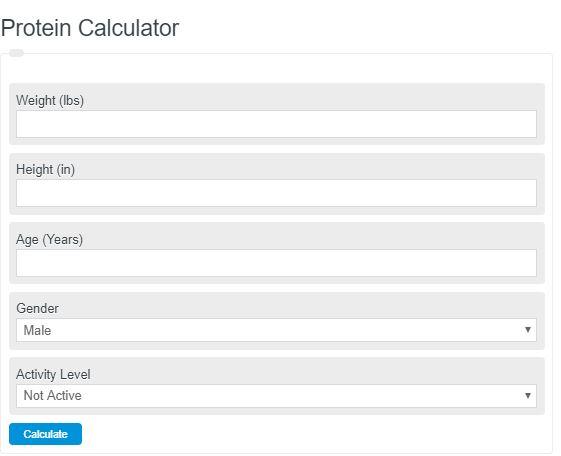 Protein Calculator