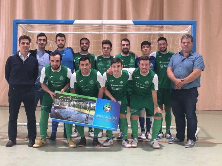 Convenio de colaboración entre el balneario de Caldas de Partovia y el Fútbol Sala Carballiño