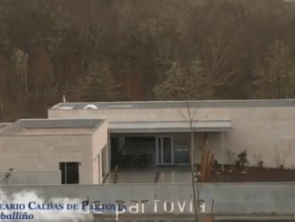 Balneario Caldas de Partovia en el programa Gato con Botas de la TVG