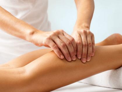 Masajes para evitar problemas circulatorios