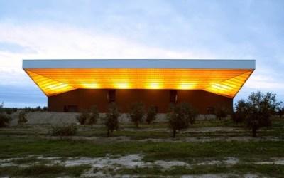 Sovena: Una almazara de diseño en el Alentejo portugués.