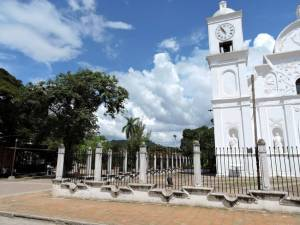 San Marcos Church - does not face the plaza