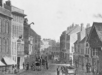 Dudley St, Wolverhampton 1830s