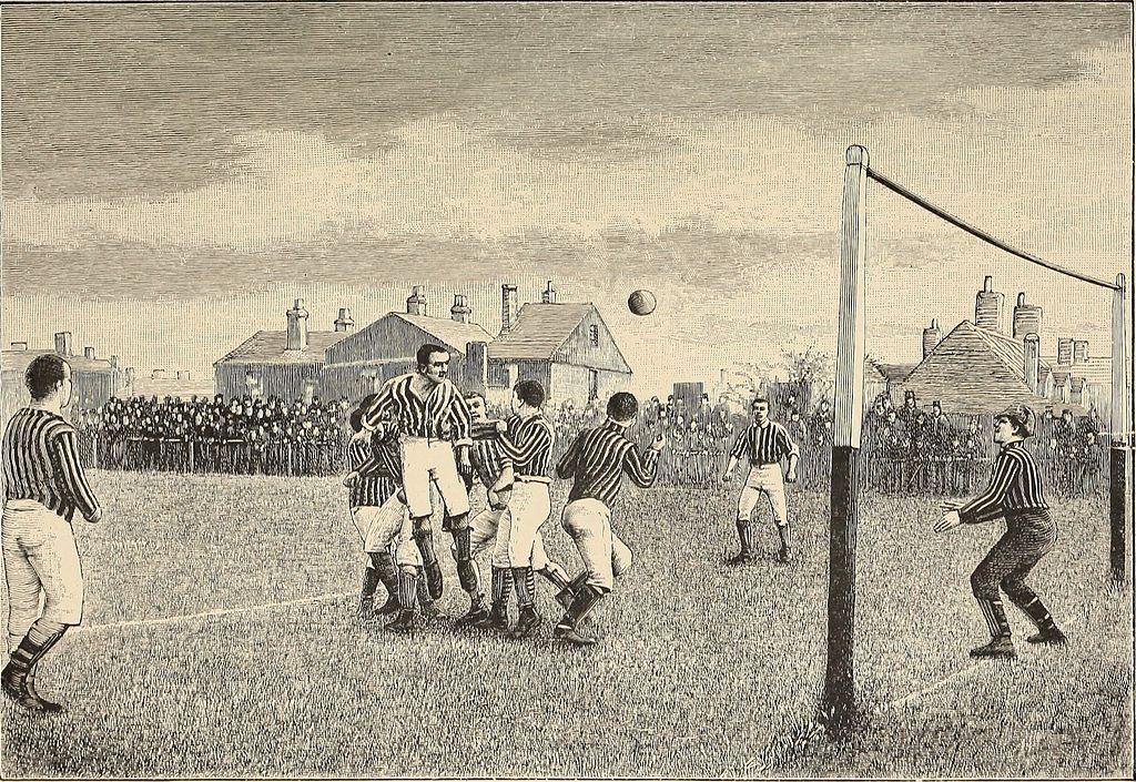 football match 1894