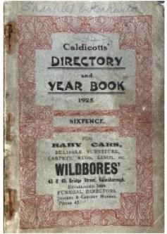 Caldicotts' Directory