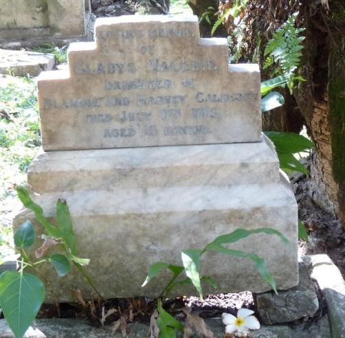Grave - Gladys Valerie Caldicott
