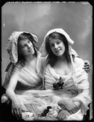 Norah Caldicott and Lilian Edith Caldicott