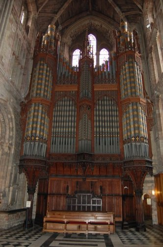 Worcester Cathedral Organ