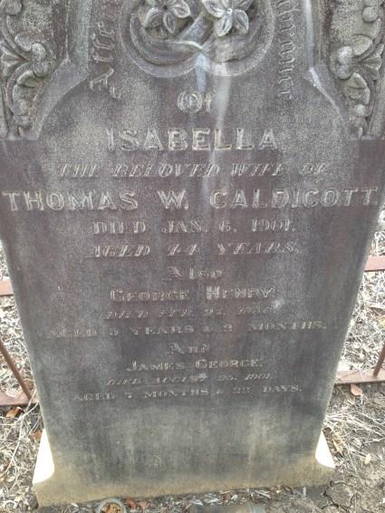 Isabella McGowan Grave