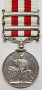 Indian Mutiny Medal Reverse