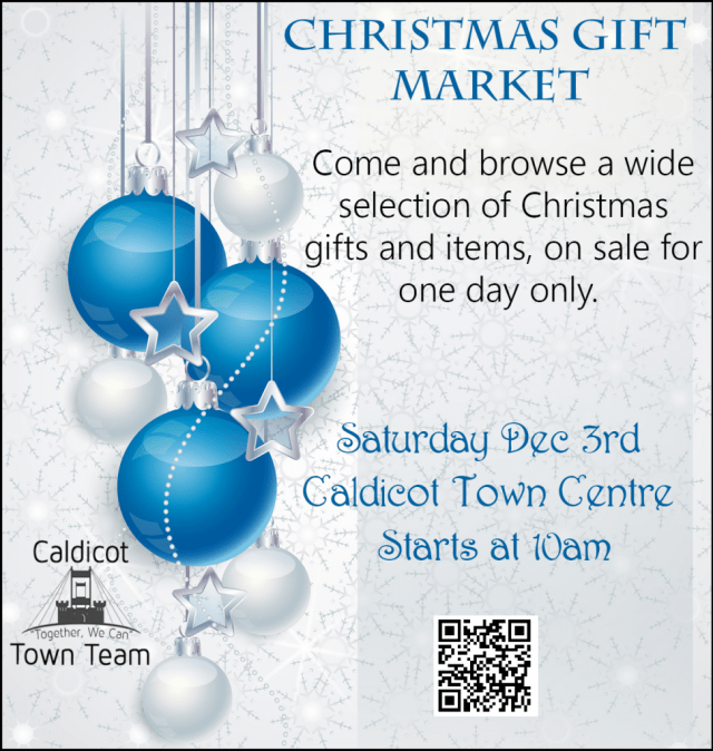 2016 Christmas Market A5 Poster -