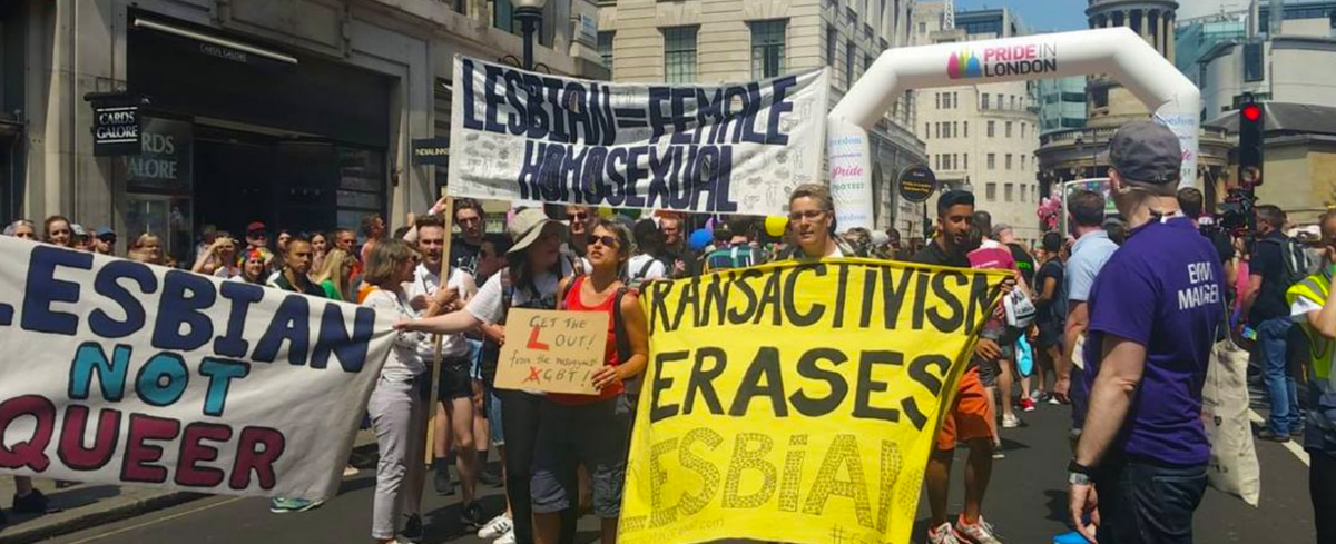 Lesbians want out of LGBTQ because the Trans movement is 'anti-lesbianism disguised as progress'