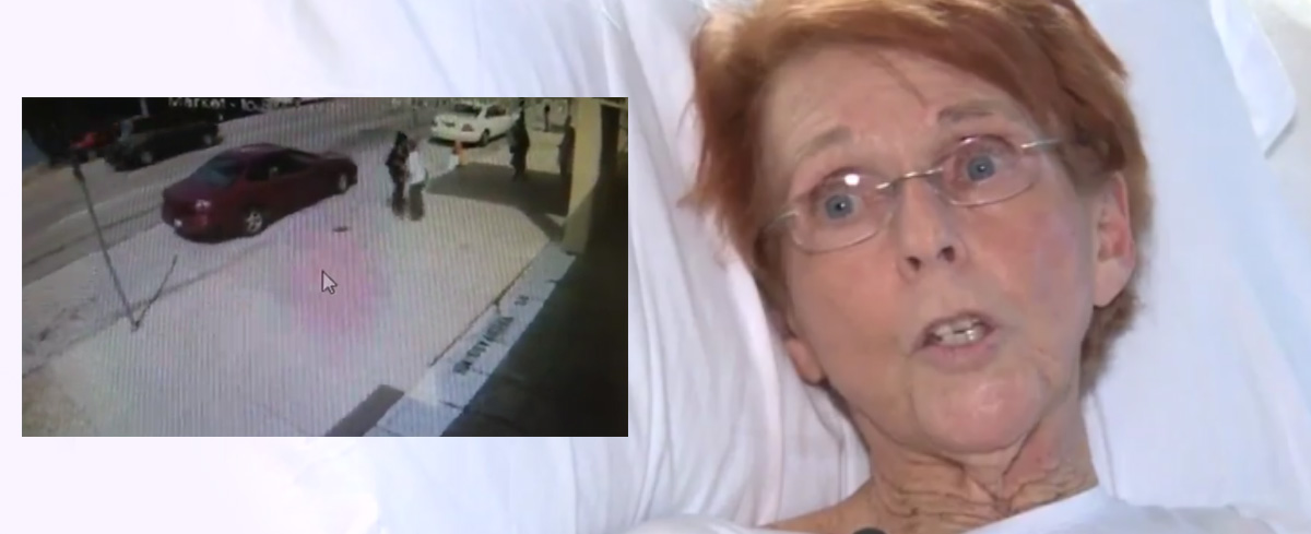 WATCH: Elderly pro-life woman has her leg BROKEN by abortion clinic customer for offering help