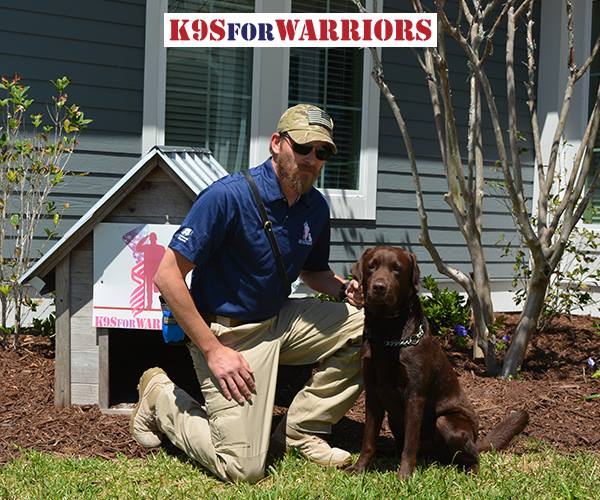 Donald Trump Vets K9s For Soldiers