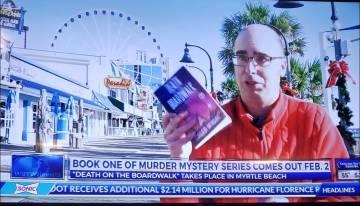 Video: Caleb Wygal talks Death on the Boardwalk with WBTW News 13