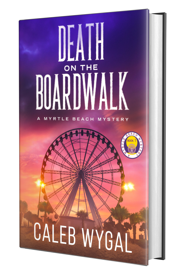 Death on the Boardwalk cover