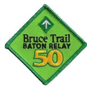 Bruce Trail Baton Relay Badge