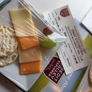 2016 Fall Colours Train Ride: Fancy Appetizers!