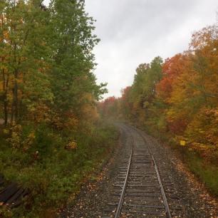 2016 Fall Colours Train Ride: Down the Track