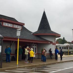 2016 Fall Colours Train Ride: Orangeville Station