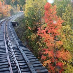 2016 Fall Colours Train Ride: Trestle Bridge