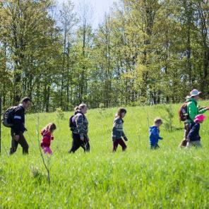 First Kids Hike!
