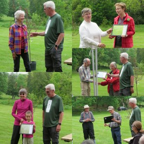 2017 Recognized Volunteers