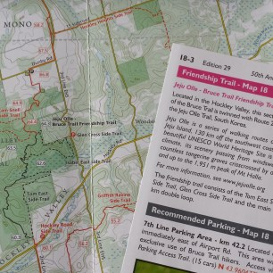 Caledon Hills Friendship Trail Map