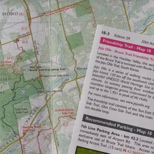 Caledon Hills Friendship Trail Map