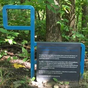 CHBTC Friendship Trail Marker