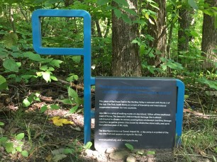 CHBTC Friendship Trail Marker