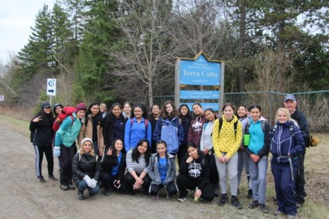An amazing day of hiking for SJMP Outdoor Ed Club!